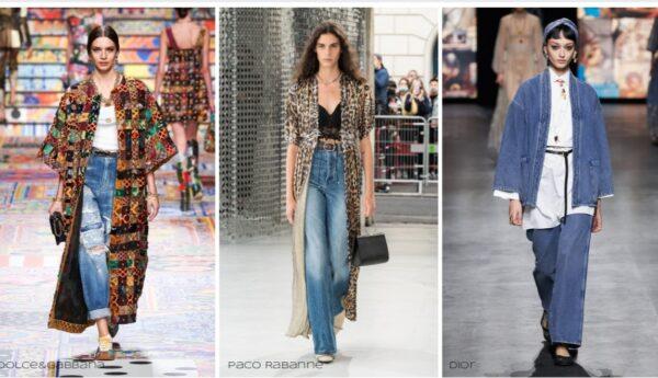 tendenze primavera estate 2021 sfilate jeans